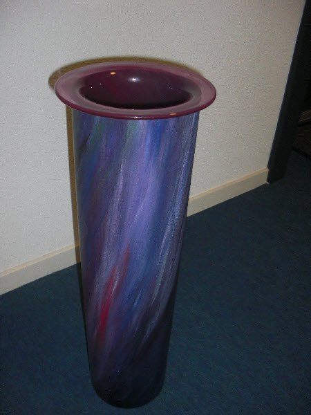 Vase (Steel and Glass)